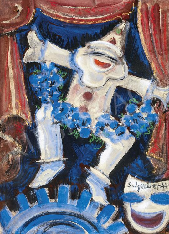 Scheiber Hugó - Varieté színpadán (Harlequin), 1930-as évek | 54. Téli aukció aukció / 2 tétel