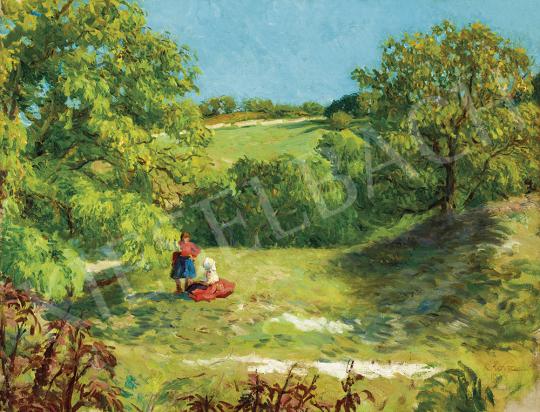 Glatz Oszkár - Nyár a domboldalon, 1934 | 54. Téli aukció aukció / 7 tétel