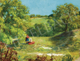 Glatz, Oszkár - Summer on the Hill-Side, 1934