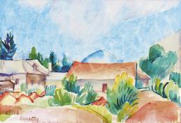 Kmetty János - Nagybányai táj, 1920-as évek