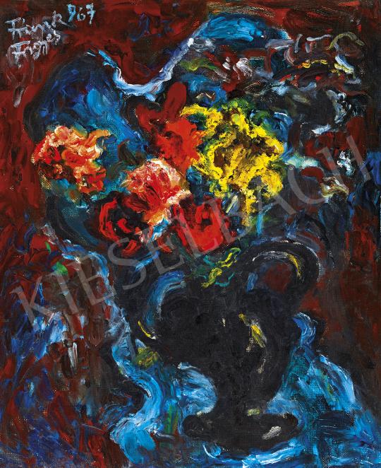 Frank Frigyes - Virágcsendélet, 1967 | 54. Téli aukció aukció / 33 tétel