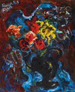 Frank Frigyes - Virágcsendélet, 1967