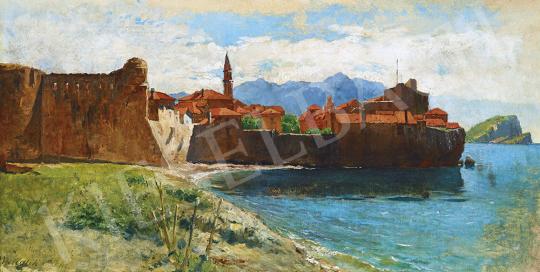 Mendlik Oszkár - Isztriai kisváros | 54. Téli aukció aukció / 37 tétel