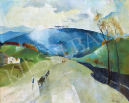 Barzó, Endre - Towards Blue Hill, early 1930s