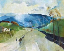 Barzó Endre - Kék domb felé, 1930-as évek első fele
