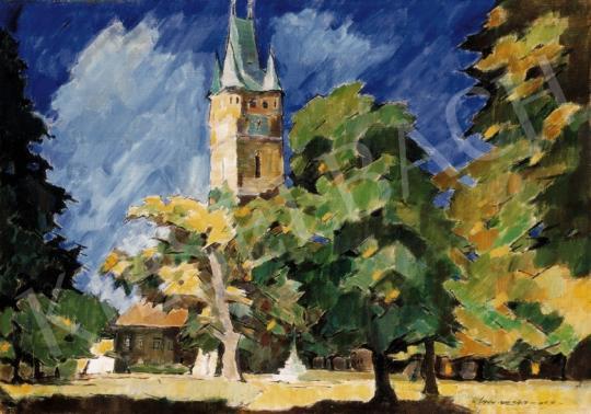 Nagy, Oszkár - The István Tower in Nagybánya | 24th Auction auction / 146 Item
