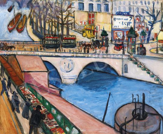 Tihanyi Lajos - Pont St. Michel (Paris), 1908 | 54. Téli aukció aukció / 46 tétel