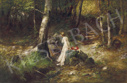 Neogrády, Antal - Rendezvous in the Forest, c. 1910