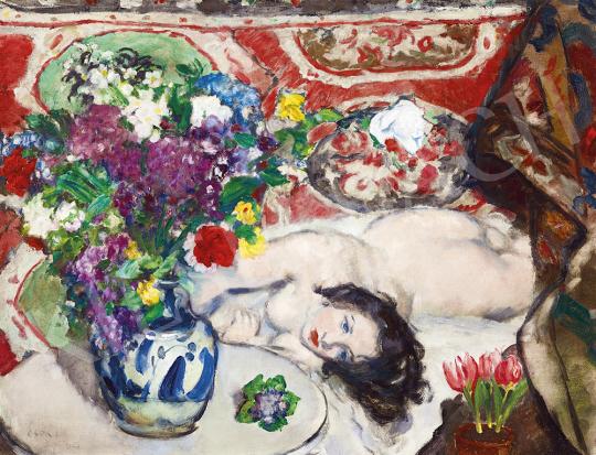 Csók István - Műteremsarok, 1926 | 54. Téli aukció aukció / 55 tétel