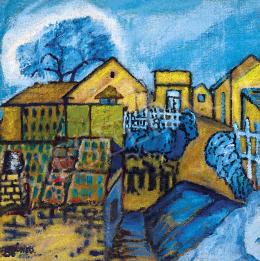 Balázs János - Házak a domboldalon