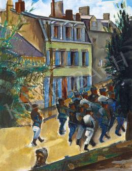 Réth Alfréd - Francia kisváros (Saint Malo), 1916