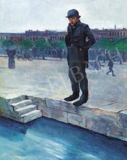 Kóber Leo - Párizs (Szajna-parton), 1910 körül