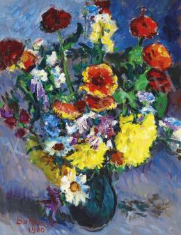 Boldizsár István - Színes virágcsokor