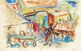 Ámos, Imre - Circus, 1940