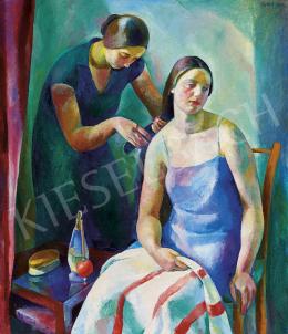 Patkó Károly - Fésülködés (Toilette), 1929