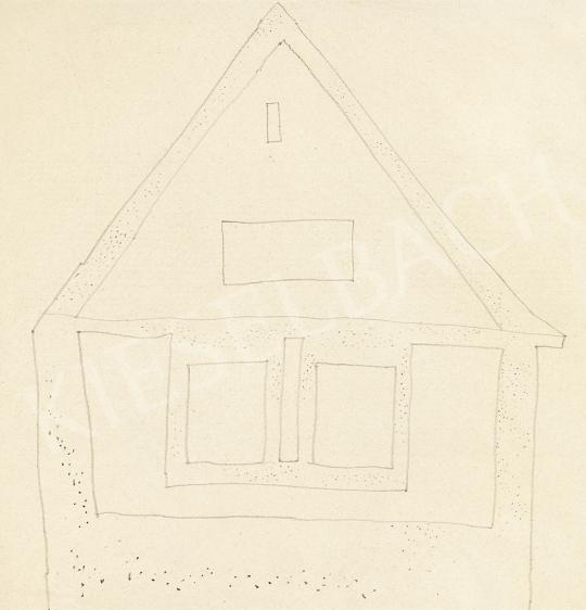 Vajda Lajos - Pöttyögetett szigetmonostori ház | 54. Téli aukció aukció / 123 tétel