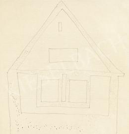 Vajda Lajos - Pöttyögetett szigetmonostori ház