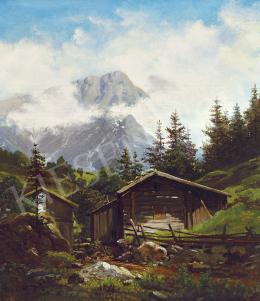 Brodszky Sándor - Romantikus táj (Kraszna völgye Erdélyben)