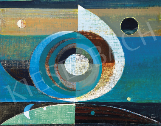 Gyarmathy, Tihamér - Cosmos I. (Sail above the Water), 1957 | 54th Winter auction auction / 136 Item