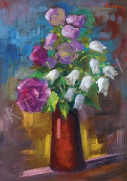 Sassy Attila - Virágok vázában (Harangvirágok)