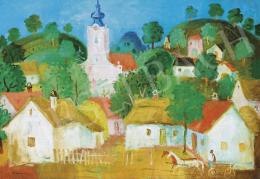 Pekáry István - Dimbes-dombos falu