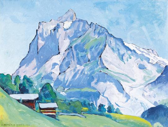 Benois di Stetto, Alexander - Wetterhorn in Grindelwald, 1942 | 54. Téli aukció aukció / 5 tétel