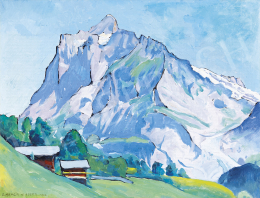 Benois di Stetto, Alexander - Wetterhorn in Grindelwald, 1942