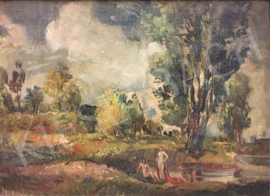 Eladó  Herman Lipót - Tájkép festménye