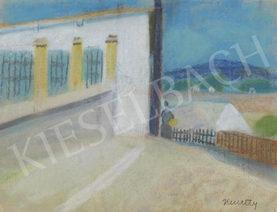 Eladó  Kmetty János - Szentendre festménye