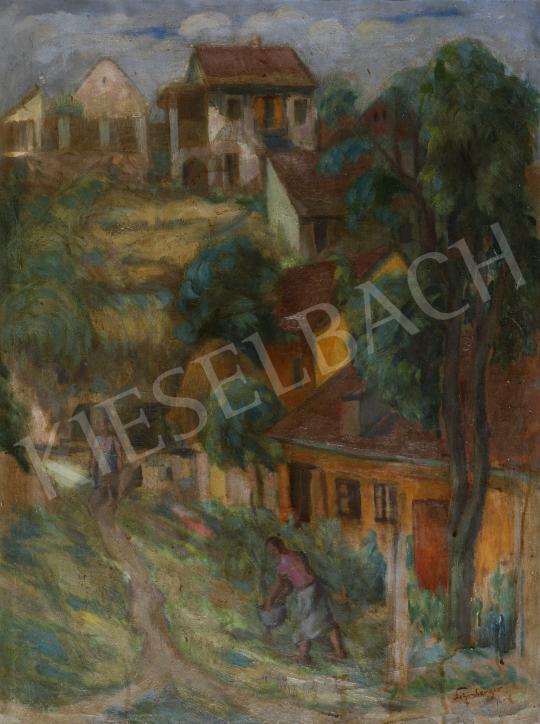 Eladó  Schönberger Armand - Nyári domboldal, 1956 festménye