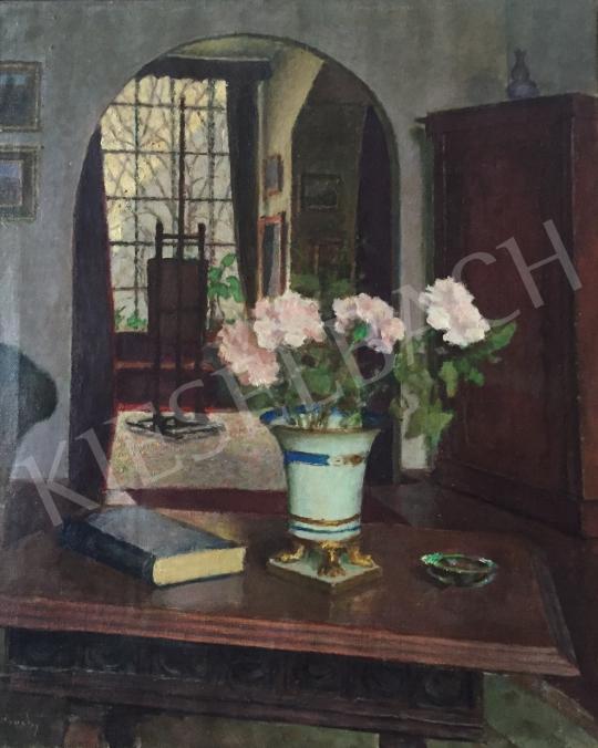 Eladó Vidovszky Béla - Virágcsendélet festménye