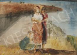 Szőnyi István - Asszonyok a folyóparton