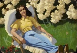 Ismeretlen festő, 20. század második harmada - Szieszta