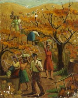 Ismeretlen festő, 20. század második harmada - Szüret