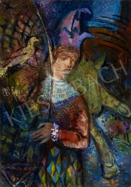 Marosán Gyula - Cirkuszban (Hommage a Chagall)
