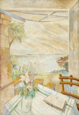 Walleshausen Zsigmond - Kilátás a nyaralóból