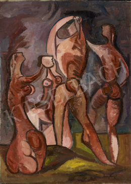 Zemplényi Magda - Szabadban (Hommage a Picasso)