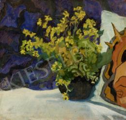 Ismeretlen festő, 1910-es évek - Sárga virágok