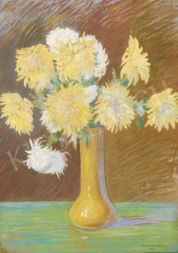 Korcsmáros János - Virágcsendélet, 1932