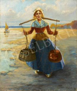 Ismeretlen festő Major AP jelzéssel, 20. század első harmada - Holland lány