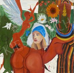 Ismeretlen magyar festő, 1975 körül - A nő többször