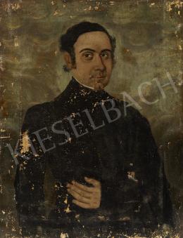 Ismeretlen magyar festő, 19. század második harmada - Férfiportré
