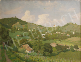 Vidovszky, Béla - Landscape with Vine Plants