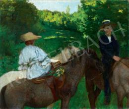 Ferenczy Károly - Lovagló gyermekek, 1905