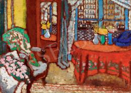 Rippl-Rónai József - Párizsi intérieur, 1910