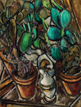 Galimberti Sándor - Kaktuszcsendélet, 1912 körül