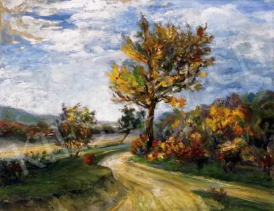 Kernstok, Károly - Autumn Landscape in Nagymaros   24th Auction auction / 178 Item