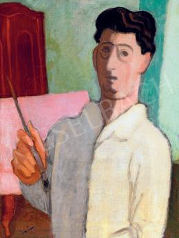 Berény Róbert - Önarckép, 1929 körül