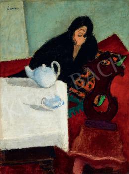 Berény Róbert - Nő feketében, 1927