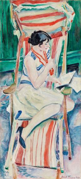 Frank Frigyes - Mimi a nyugágyban, 1927